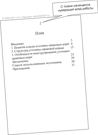 Написание курсовой работы Правовые технологии План курсовой работы 3 Введение